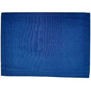 Blueberry Home Azure Solid Placemats (Set of 6)