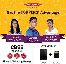 Lakshya Institute Robomate+ Class 12 CBSE Video Lecture - 130369984