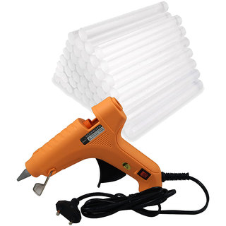 40W Hot Melt Glue Gun with 40 Pcs Glue Sticks