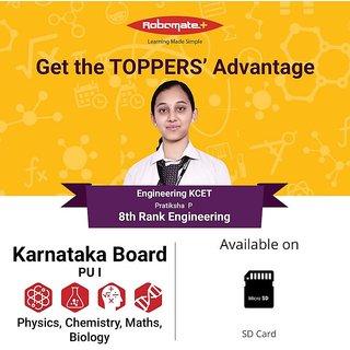 Mahesh PU Robomate+ PU I Karnataka Board Video Lectures - PCMB - Physics, Chemistry, Maths, Biology. 2017-18 (Tablet)