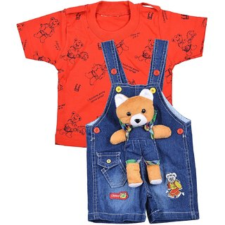 Kids dungarees for boys(3 months to 2 years)