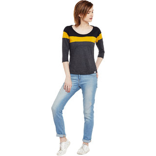 The Dry State Women's Multicolor Tshirts
