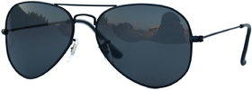 Sunglass in Aviator Style In Dark Shade