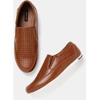 Moda Rapido Men Laser Cut Slip-On Sneakers-K21