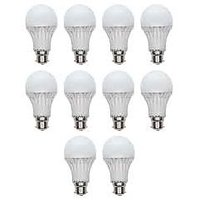 Set Of 10 Pcs 12 Watt W LED Bulb Lamp Light