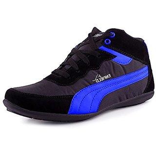 Aadi Men's Blue Smart Canvas Casuals Shoes