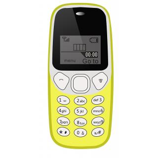 IKALL K71 Yellow with Vibration Feature 1000 mAh battery 101 days Replacement Warranty BIS Certified and 1 year Manuf