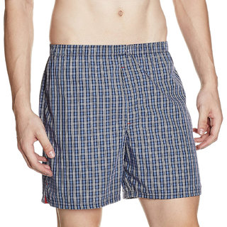 Cybernext Mens Multicolored Boxer (Set of 1)