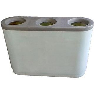 EcoElegant FRP Dustbin Triple 10X29.5