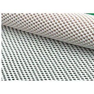 Skywalk Multi Purpose Pvc Foam Anti-slip Anti-slide Mat- For Fridge, Bathroom, Kitchen, Drawer, Shelf Liner(45x125 cm) Set of 4