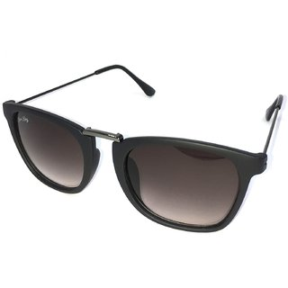 Silver Kartz Black UV Protection Wayfarer Sunglasses