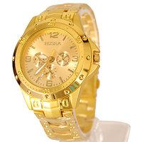 Rosra Full Gold Stylish Wrist Watch For Men G