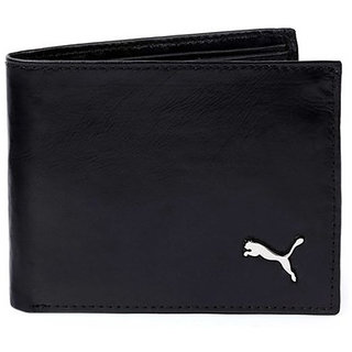 Puma Men Black Leather Wallet