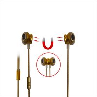 Digimate Premium Earphones - Gold