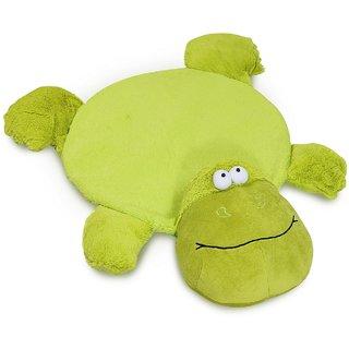 Baby Oodles Green Anti Skid Base Plush Frog Floor Mat For Kids Room Dcor