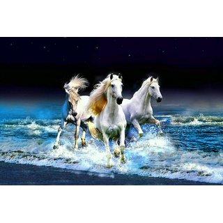 Winner Horses Laminatd Poster