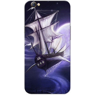 Oppo F3 Case, Yacht Dream Ride Slim Fit Hard Case Cover/Back Cover for OPPO F3