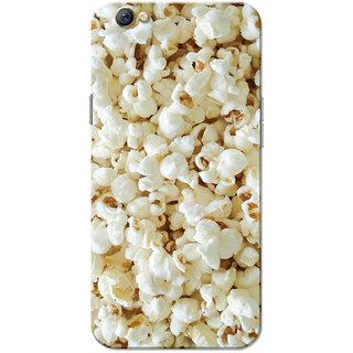 Oppo F3 Case, Popcorn White Slim Fit Hard Case Cover/Back Cover for OPPO F3