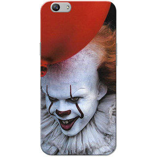 Oppo F1S Case, Joker Ballon Red White Slim Fit Hard Case Cover/Back Cover for OPPO F1s