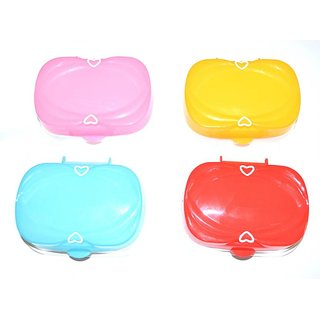 Pin to Pen Love Affair Soap Case with Lid 4 (Multicolor)
