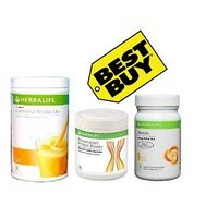 Herbalife Ultimate Weight Management Program Formula 1 Formula 3 -Mango (1 Shake 500Gm 1 Protein Powder1 AL )