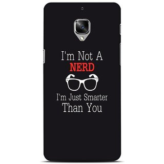 Ajeraa Premium Quality Printed Back Cover For OnePlus 3