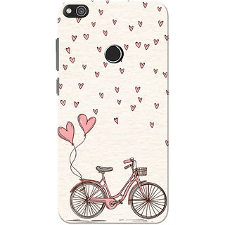 Buy Huawei Honor 8 Lite Case Huawei P8 Lite Case Love Cycle Pink