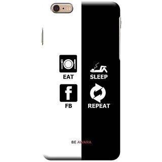 Ajeraa Premium Quality Printed Back Cover For I-Phone 6S Plus