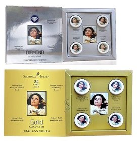 Shahnaz Husain Diamond  gold facial kit combo