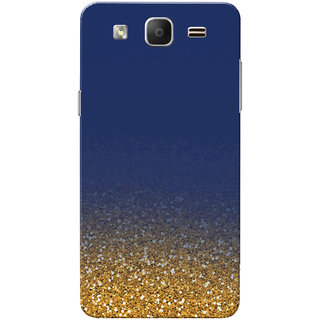 cheap for discount cba35 9c867 Galaxy On5 Case, Galaxy On5 Pro Case, Golden Glitter Blue Slim Fit Hard  Case Cover/Back Cover for Samsung Galaxy On 5/On5 Pro