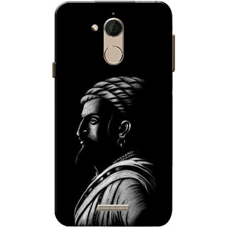 the best attitude 123bf 461c7 Coolpad Note 5 Case, Shivaji Maharaj Black Slim Fit Hard Case Cover/Back  Cover for Coolpad Note 5