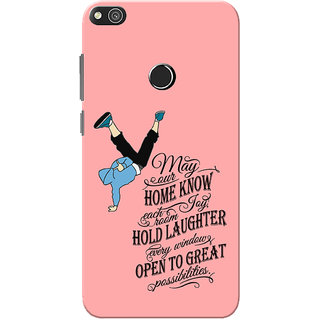 newest 87c15 96e6d Huawei Honor 8 Lite Case, Huawei P8 Lite Case, Dance Quote Slim Fit Hard  Case Cover/Back Cover for Huawei Honor 8 Lite