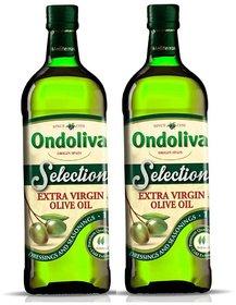 Ondoliva Extra Virgin Olive Oil 1 l Pack of 2