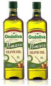 Ondoliva Pomace Olive Oil 1 l Pack of 2