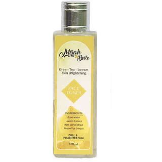 Gren Tea - Lemon Skin brightening face toner