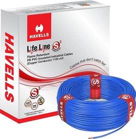 Havells Life Line 1.5 MM Blue (90 Mtr)
