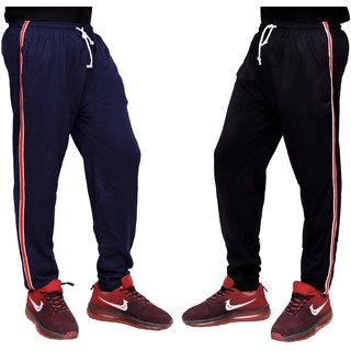 Combo Of Cotton Pyjamas For MenBlack And Navy