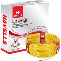Havells Life Line 1.5 MM Yellow (90 Mtr)