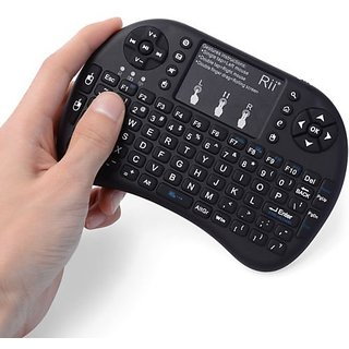 Jaiden Mini wireless keyboard Touchpad Smart Function Black Bluetooth Keyboard Mouse Combo Mouse For Pc/Pad/360Xbox/Ps3/Google Android Tv Box