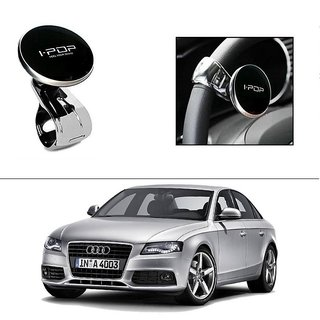AutoStark i-Pop Black Big Size Car Steering Wheel Power Holder Knob For Audi A4