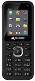 Micromax X409 Dual SIM Basic Phone (Black Red)