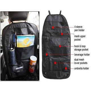 Car Back Seats Multifunctional Pockets Storage Organiser Bag Standard - CBKORG2
