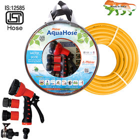 AquaHose Water Hose Set Orange 15mtr  20mm ID  Hose Pipe