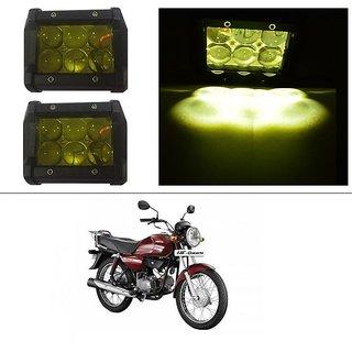 AutoStark 18W Car LED Work Light Bar 12V Spot Yellow 4D Lens DRL  Fog Light  For Hero HF Dawn