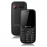Micromax X512 Dual SIM Basic Phone (Black)