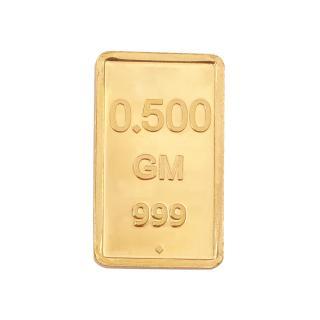 RSBL Ecoins 0.5 grams 24k (999) Yellow Gold Precious Coin