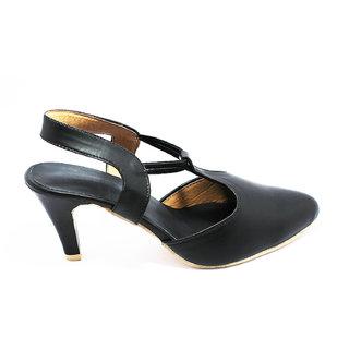 Womens High Heel Black Office wear