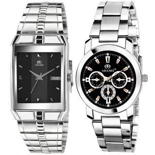 ADAMO Legacy Couples Wrist Watch 9151SM02-324SM02