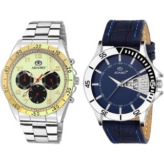 ADAMO Designer Men's Wrist Watch 314BM01-811SB05