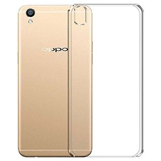 SAVINGUP Transparent Back Cover For Oppo A37 - TPU Silicon Back for Oppo A37